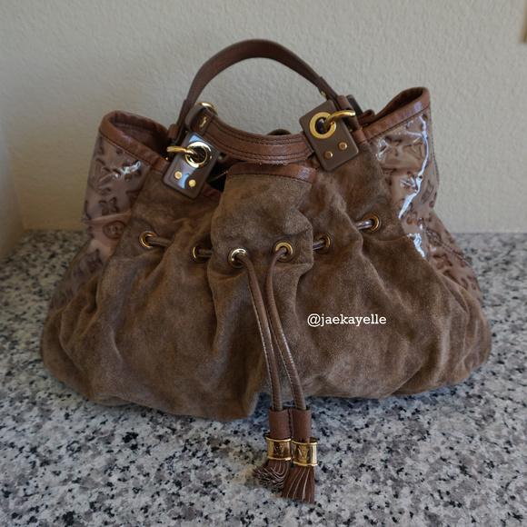08062e014848 Louis Vuitton Handbags -  Limited Edition  Louis Vuitton Irene Coco Suede